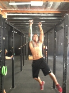exercising at a CrossFit Gym