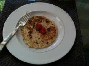 Dairy-Free, Gluten-Free, Vegetarian Chocolate-Banana Pancake
