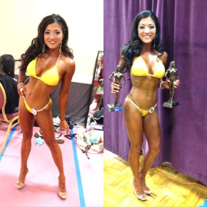 JoJo bikini competitor