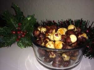 honey roasted hazelnuts