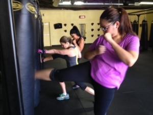 kickboxing girls