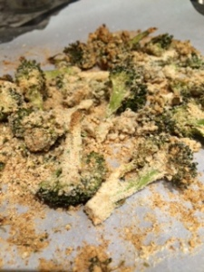 vegan broccoli chips