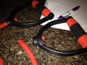 broken exercise band