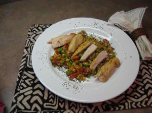 chicken and quinoa from The High Five Diet