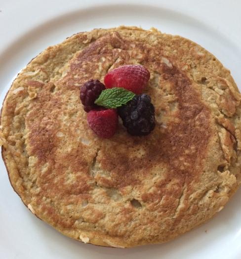 Paleo Banana Coconut Pancake