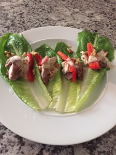 Fit Girl Chicken Lettuce Wraps
