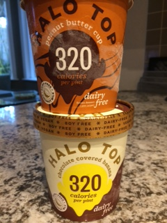 Halo top stacked