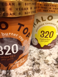 Halo Top Vegan Ice Cream