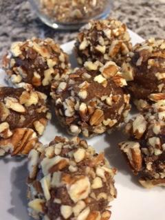 Vegan Pecan Pie Cookie Bites