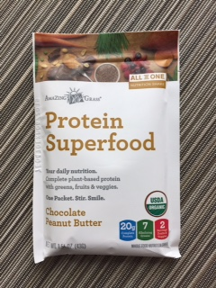 Amazing Grass Chocolate Peanut Butter Protein Powder review