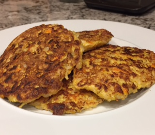 Fit Girl Zucchini Pancakes