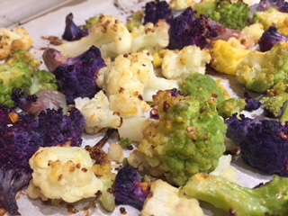 mustard lemon cauliflower