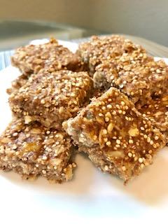 quinoa-oat banana bars 1