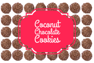 dairy-free, soy-free, gluten-free, flour-free, sugar-free coconut chocolate cookies