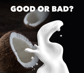 coconut increases cholesterol